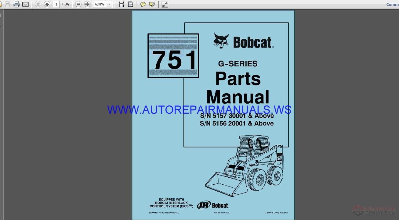 hight resolution of  bobcat online parts manual auto repair manual forum heavy