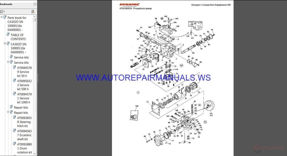 medium resolution of auto repair manuals dynapac full set spare parts catalogue dvd asv wiring diagram dynapac lg500 wiring diagram