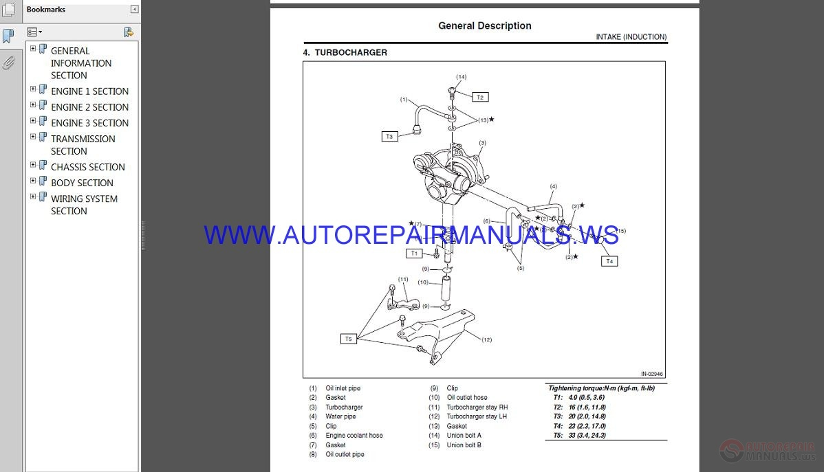 Impreza 2008 2014 Service Repair Fsm Manual Electrical Wiring