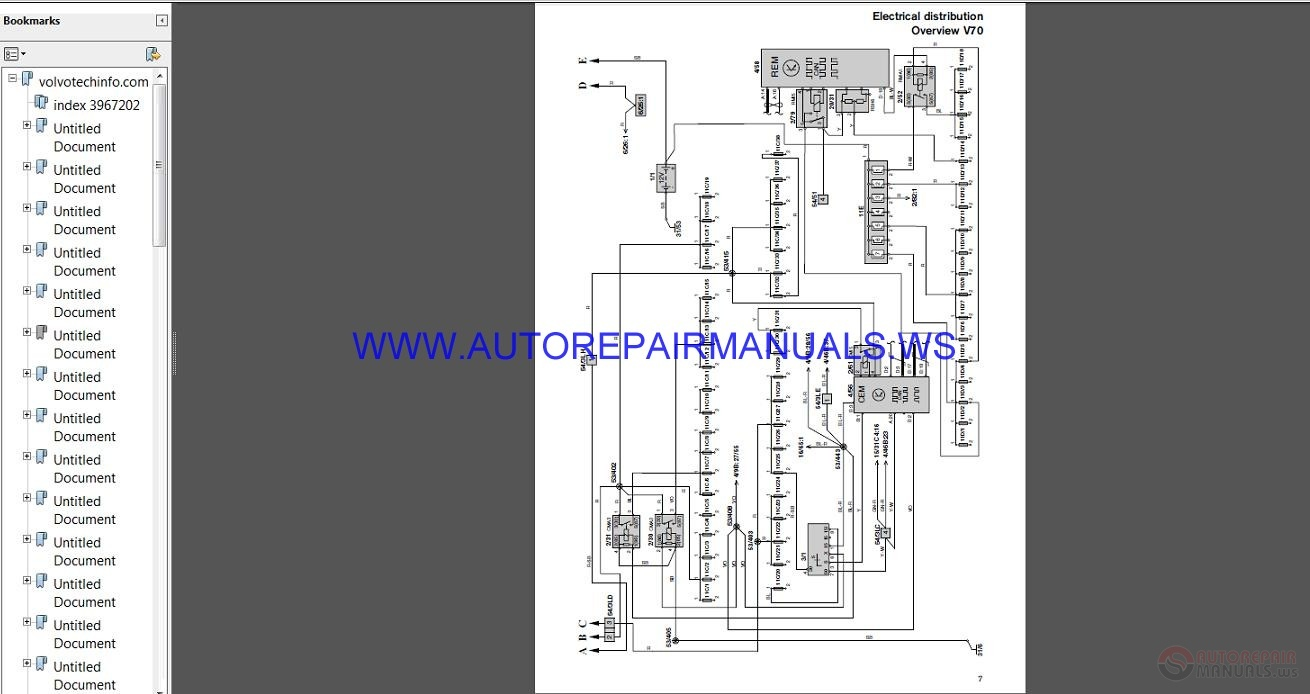 Volvo S60 Wiring Diagram