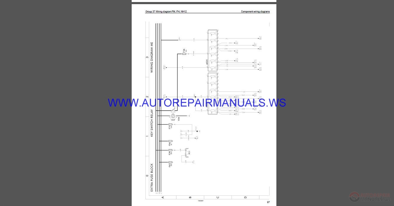 hight resolution of volvo trucks fh wiring diagram wd service manual auto repair rh autorepairmanuals ws 3 way