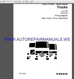volvo trucks fm9 fm12 fh12 version2 wiring diagram service [ 1337 x 723 Pixel ]