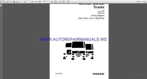 small resolution of volvo trucks fm9 fm12 fh12 version2 wiring diagram service