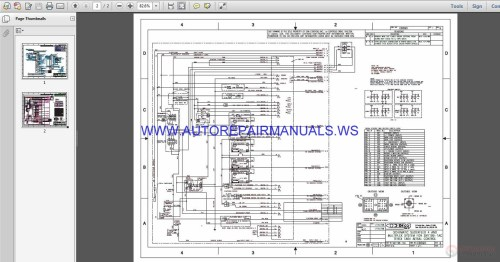 small resolution of terex lift ta 64 electrical schematic wiring diagram parts manual img