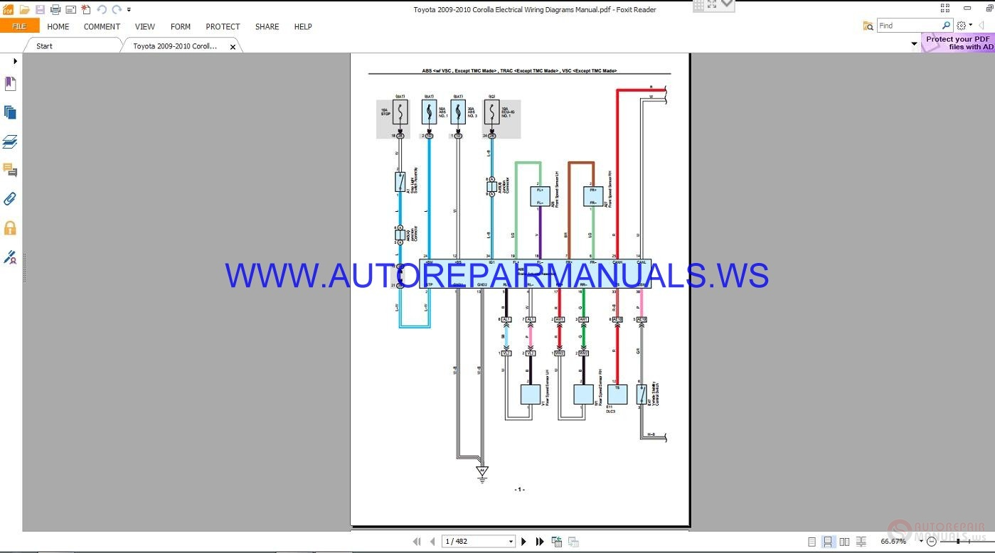 Electrical Wiring Diagram Car Toyota