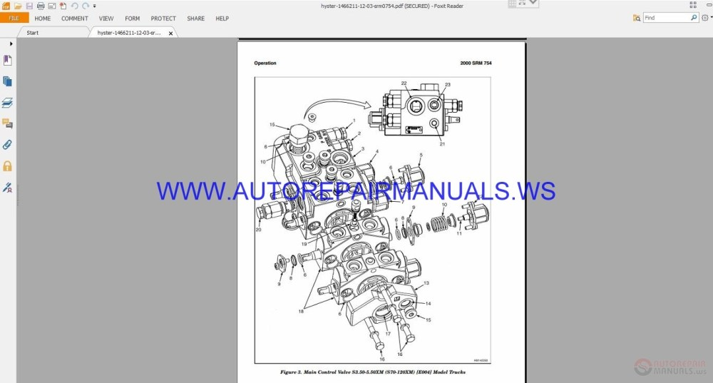 medium resolution of hyster service manual source beautiful hyster s120xms forklift wiring diagram photos wiring