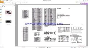 Caterpillar 120H & 135H Motor Grader Electrical Schematics Manuals RENR1424   Auto Repair Manual