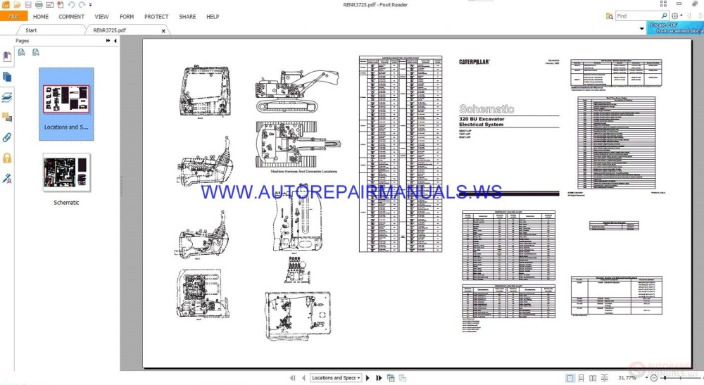 medium resolution of includes guide operating pre owned printed by 7 1998 311c u for machinery trader used 311cu 12t hydraulic with quick hitch dozer blade