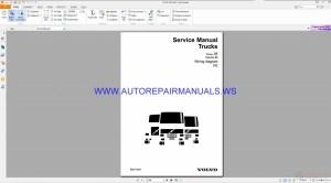 Volvo FE Trucks Wiring Diagrams Service Manual 88917383