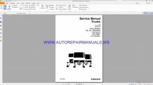 Volvo FM, FH Version2 Trucks Wiring Diagrams Service