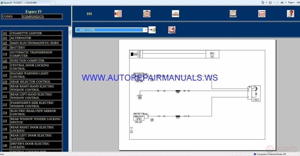 medium resolution of renault espace iv wiring diagram pdf wiring diagram wiring diagram renault espace renault