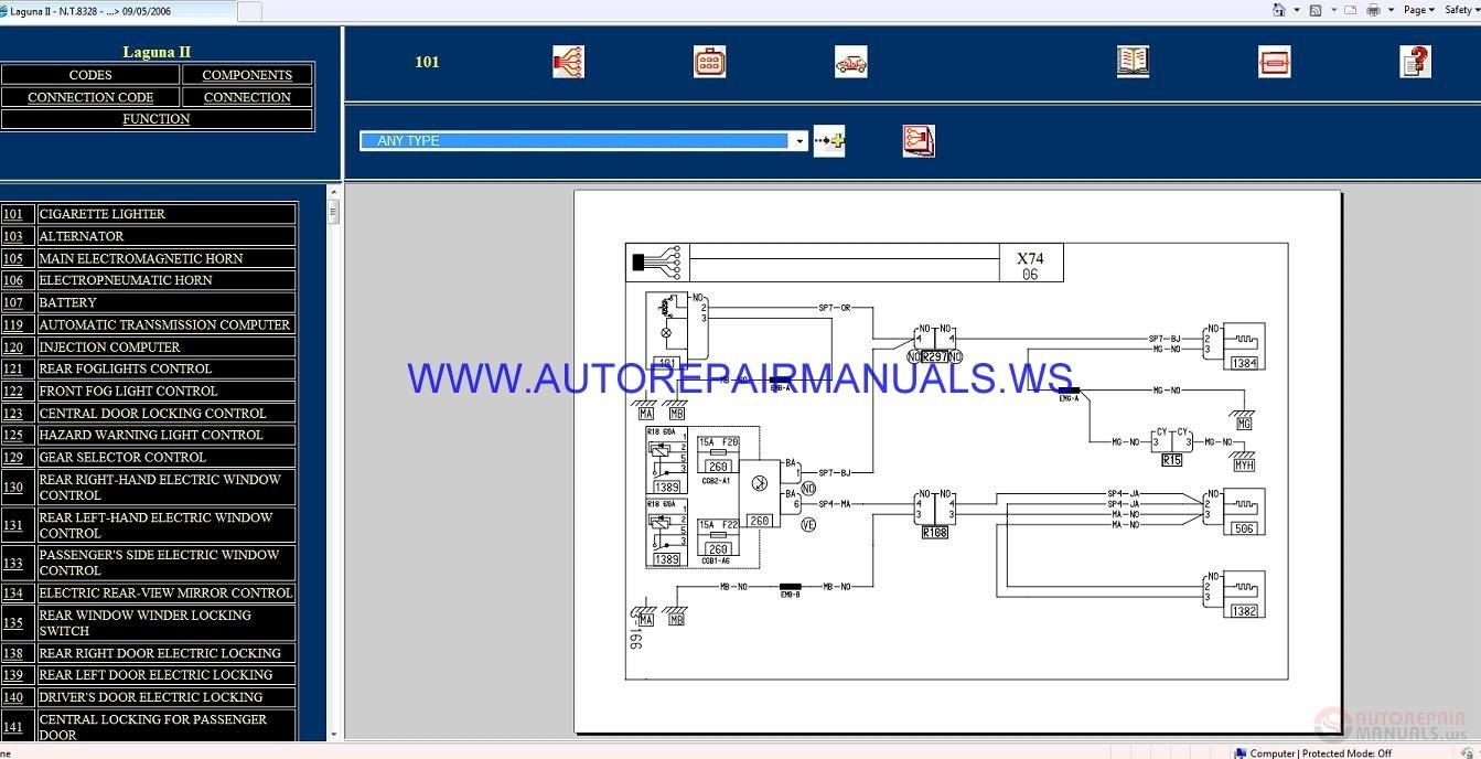 hight resolution of renault laguna ii x74 nt8328 disk wiring diagrams manual 09 05 2006 auto repair manual forum renault clio ii wiring diagrams renault clio 2 wiring diagrams
