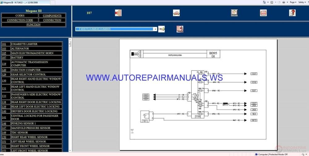 medium resolution of diagram renault megane iv workshop wiring diagram renault megane iii bd95 nt8422 disk wiring diagrams manual