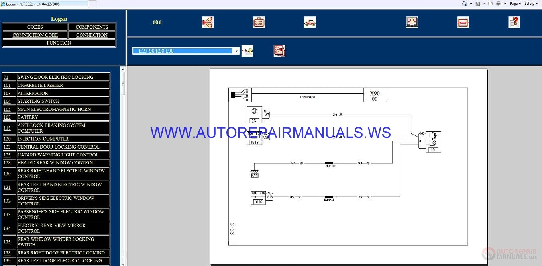 hight resolution of renault logan x90 nt8321 disk wiring diagrams manual 04 12 2006logan wiring diagram 16