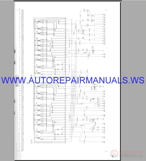 Volvo F10-F16LHD Wiring Diagram Trucks Service Manual TSP