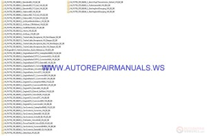 Volvo V3V4 PV776370 All Electrical Schematics Manual