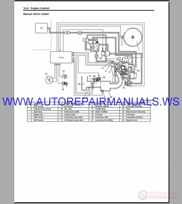Suzuki Motor DF15A DF20A Lean Burn Repair Manual 2012-2013