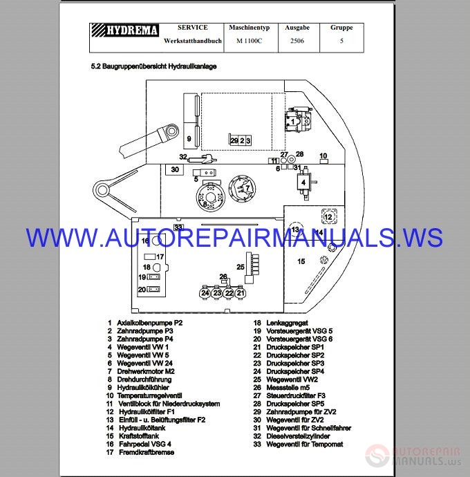 setra s315s317 bus wiring diagrams german auto repair manual