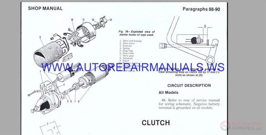 [DIAGRAM] Engine Body Troubleshooting U0026 Specifications
