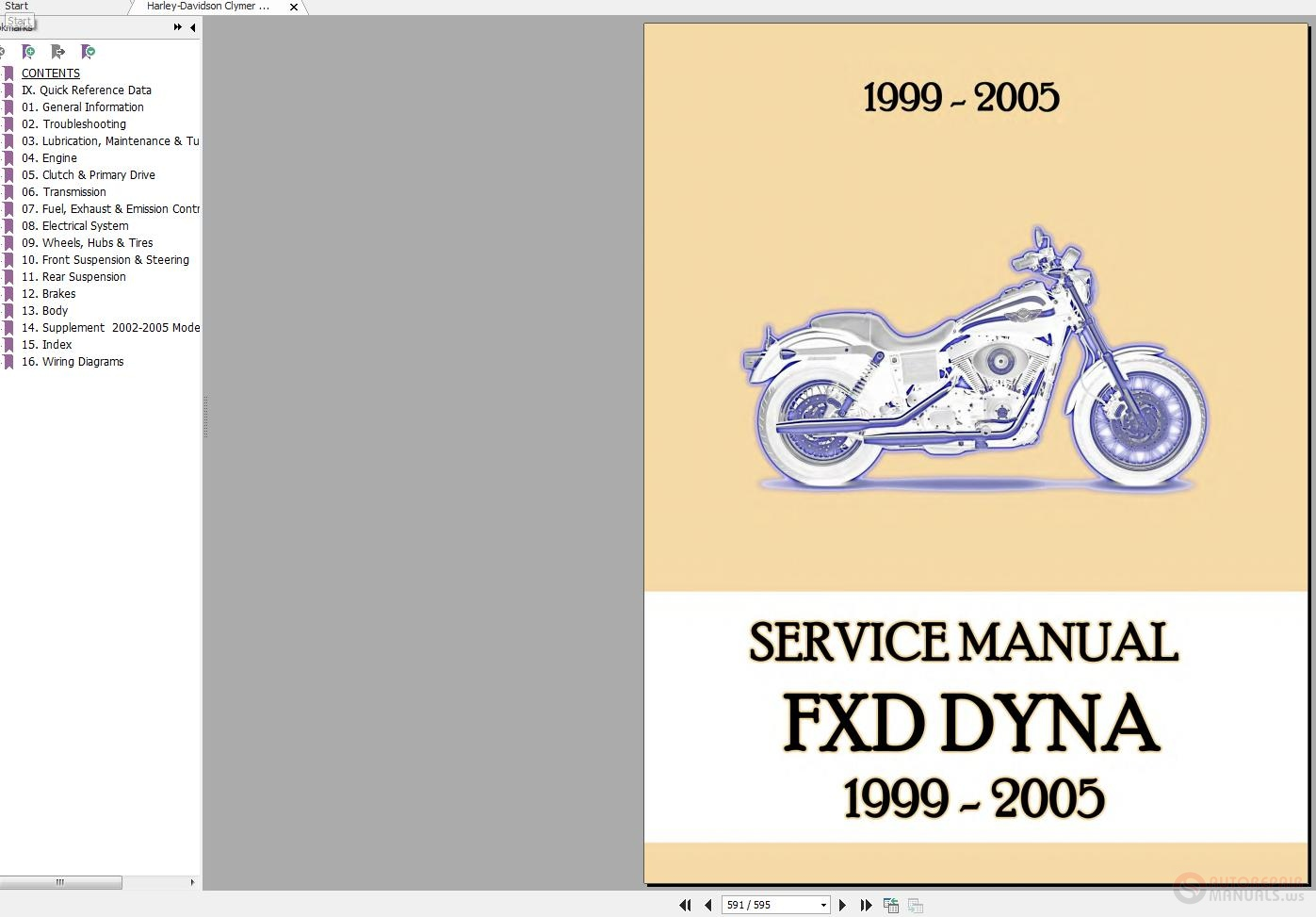 hight resolution of harley davidson clymer 1999 2005 fxd dyna service manual auto rh autorepairmanuals ws on harley dyna electrical system for click here download at harley