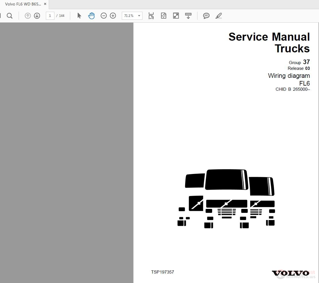 hight resolution of volvo fl6 b265000 wd service manual auto repair manual forumclick here download