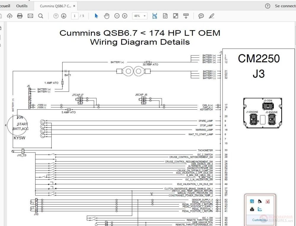 medium resolution of cummins qsb6 7 cm2250 j3 wiring diagram details auto repair manual click here download