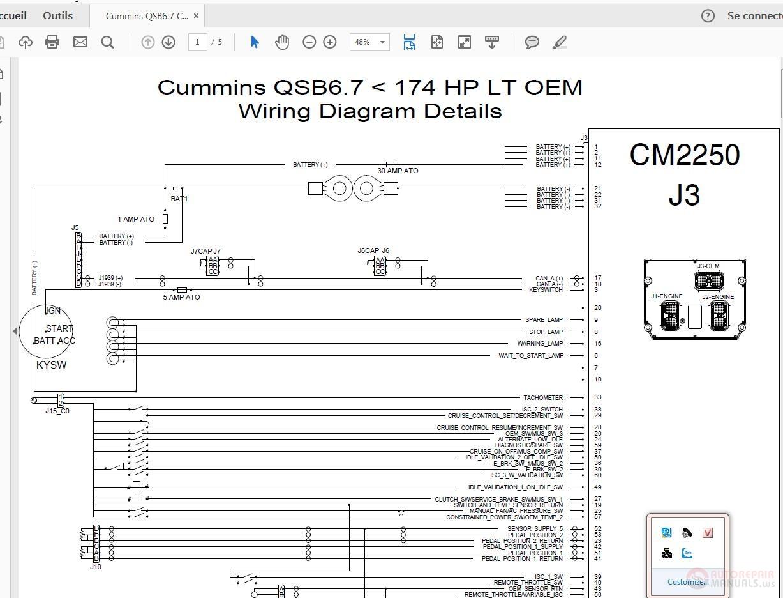 hight resolution of cummins qsb6 7 cm2250 j3 wiring diagram details auto repair manual click here download