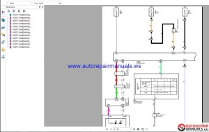 Toyota Lexus 2018 Electrical Wiring Diagram CD | Auto