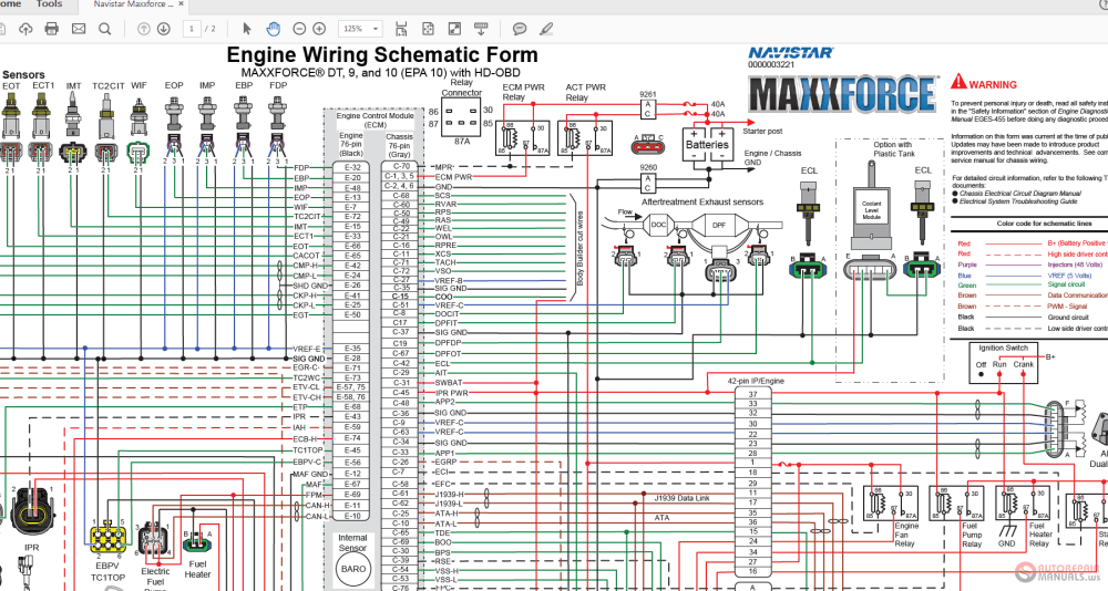 medium resolution of navistar ecm wiring diagram wiring diagram datasource maxxforce wiring diagram wiring diagram toolbox navistar ecm wiring