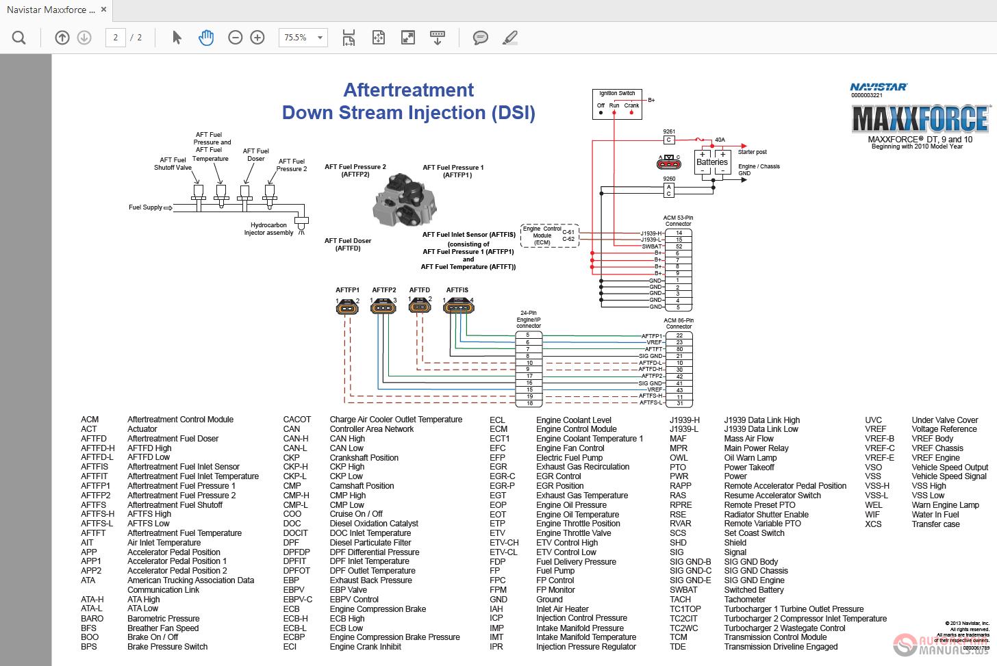 hight resolution of navistar maxxforce dt 9 10 hd obd 2013 wiring diagrams