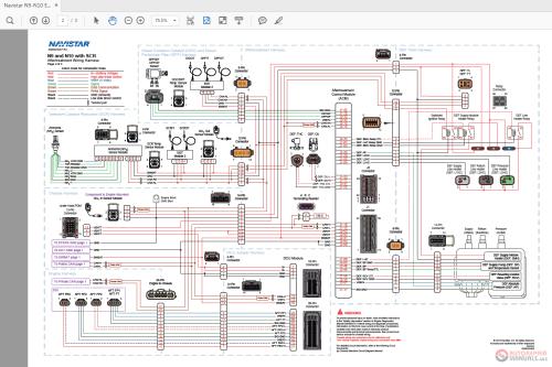 small resolution of navistar n9 n10 engine wiring diagrams