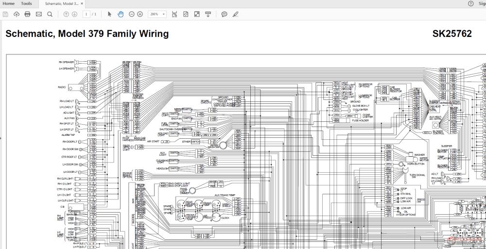 medium resolution of peterbilt 379 sk25762 family wiring diagrams