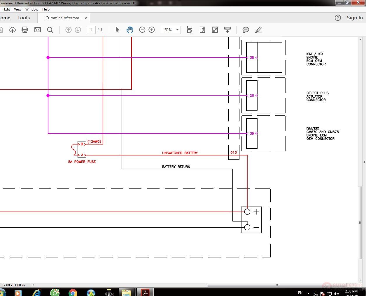 hight resolution of cummins aftermarket icon 3666420 02 wiring diagram