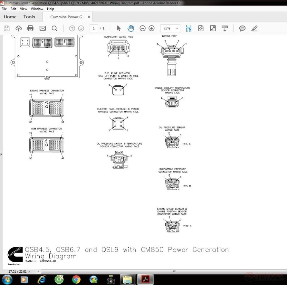 medium resolution of cummins power generation qsb4 5 qsb6 7 qsl9 cm850 4021586 01 wiring diagram