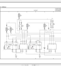 toyota corolla 2014 2019 electrical wiring diagram [ 1436 x 987 Pixel ]