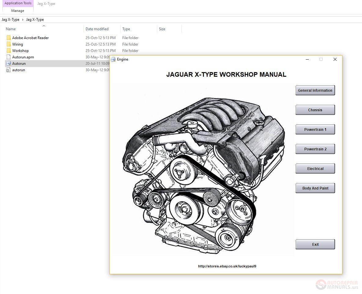 Jaguar X-Type 2001-2009 Workshop Manual Wiring Diagram