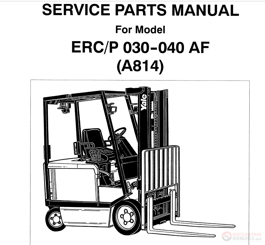 hight resolution of yale supplement electric parts manual img img img