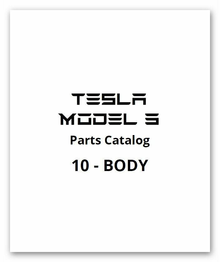 [Tesla] Tesla Model 3 Full Service Repair Manuals 2016