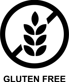 Gluten free symbol for product labels
