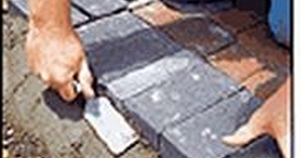 How to install concrete paver edging  eHow UK