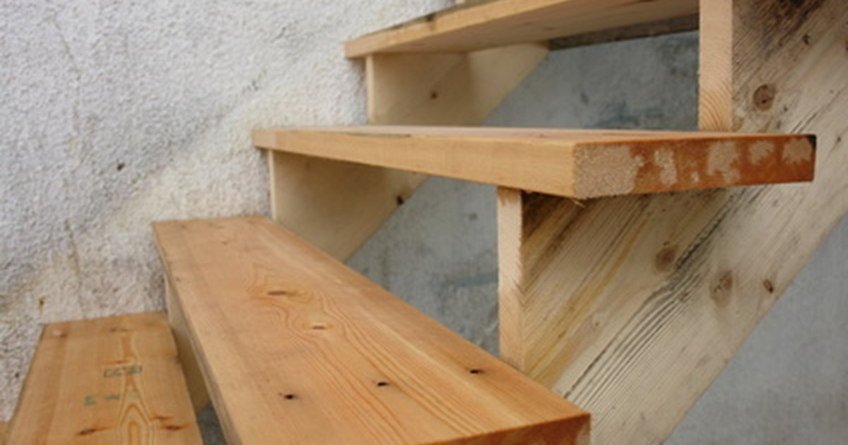 How To Use Precut Stair Stringers For Decks  Ehow Uk