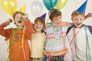 Ideas alternativas para bolsas de regalos para fiestas infantiles