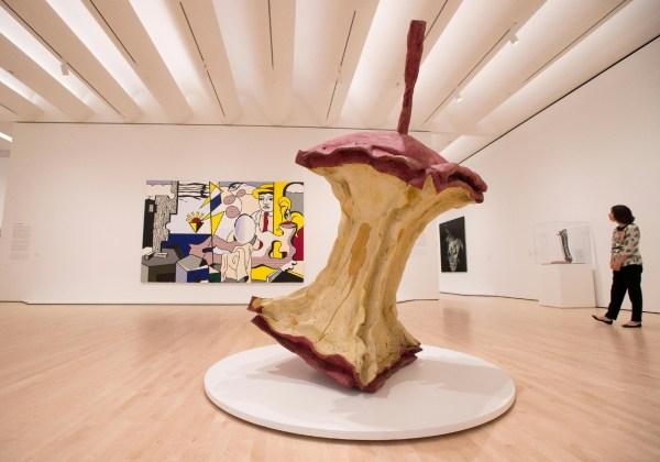 Inside of Modern Art Museum San Francisco