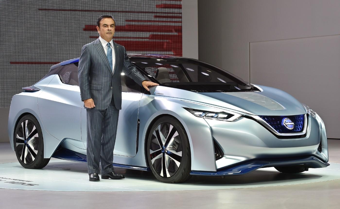 Nissan Carlos Ghosn a gagn plus dun milliard de yens en 201516