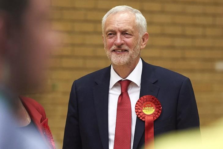 Jeremy Corbyn le 9 juin 2017 à Islington / AFP