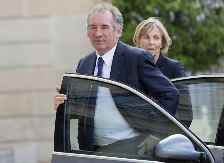 François Bayrou et Marielle de Sarnez à Paris, le 25 juin 2016 / AFP/Archives