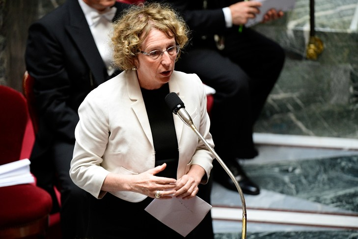 La ministre du Travail Muriel Pénicaud, le 5 juillet 2017 à l'Assemblée nationale à Paris / AFP