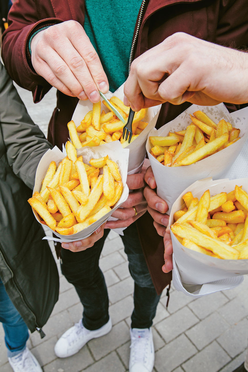 Les frites belges. une institution - La Croix
