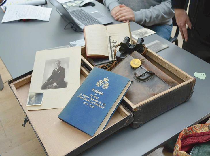 Journées de collecte de documents privés à Bonn.