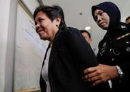The Australian Maria Elvira Pinto Exposto in Kuala Lumpur court in 2017.